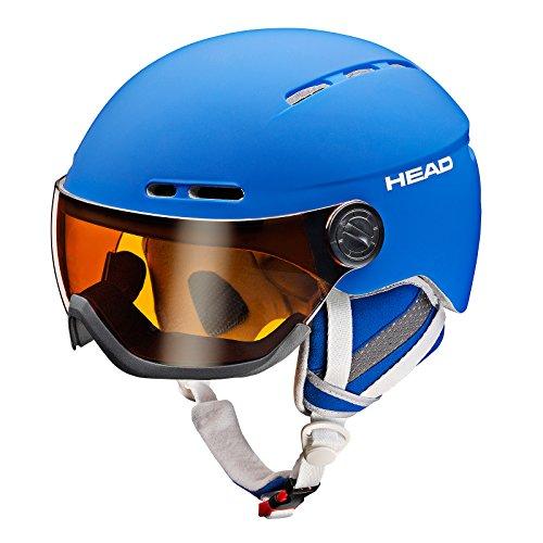 スノーボード ウィンタースポーツ 海外モデル ヨーロッパモデル アメリカモデル 324117 HEAD Knight Blue ski Snowboard Winter Sports Helmet 2018 Model New (M/L)スノーボード ウィンタースポーツ 海外モデル ヨーロッパモデル アメリカモデル 324117