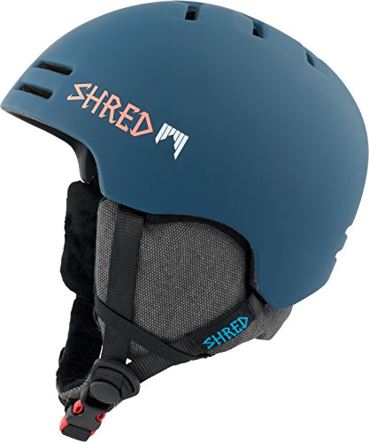スノーボード ウィンタースポーツ 海外モデル ヨーロッパモデル アメリカモデル DHESLCG SHRED Slam-Cap Warm Grab Helmet, Blue, Small (52-55)スノーボード ウィンタースポーツ 海外モデル ヨーロッパモデル アメリカモデル DHESLCG
