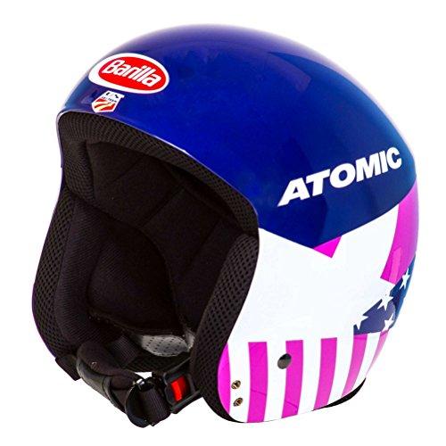 スノーボード ウィンタースポーツ 海外モデル ヨーロッパモデル アメリカモデル Atomic Adult's 2016/17 Redster WC Alpine Helmet - AN50053 (Mikaela - L 5859)スノーボード ウィンタースポーツ 海外モデル ヨーロッパモデル アメリカモデル