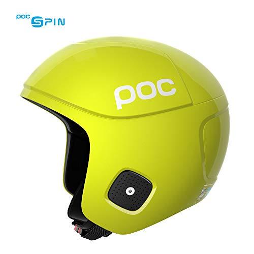 スノーボード ウィンタースポーツ 海外モデル ヨーロッパモデル アメリカモデル 10171 POC Skull Orbic X Spin, High Speed Race Helmet, Hexane Yellow, Mediumスノーボード ウィンタースポーツ 海外モデル ヨーロッパモデル アメリカモデル 10171