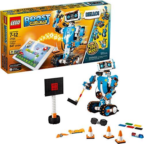 レゴ 6224314 LEGO Boost Creative Toolbox 17101 Fun Robot Building Set and Educational Coding Kit for Kids, Award-Winning STEM Learning Toy (847 Pieces)レゴ 6224314