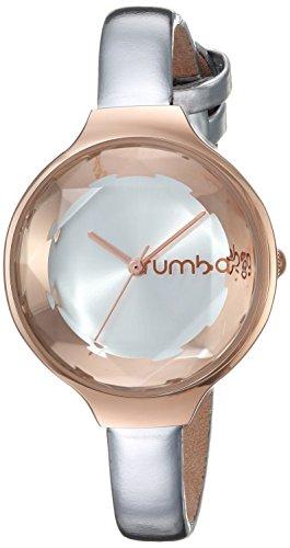 ルンバタイム 腕時計 レディース 28522 【送料無料】RumbaTime Women's Orchard Gem Patent Japanese-Quartz Watch Leather Strap, Silver, 8 (Model: 28522)ルンバタイム 腕時計 レディース 28522