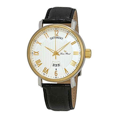 ルシアンピカール 腕時計 メンズ 【送料無料】Lucien Piccard Maestro Silver Dial Men's Watch 40054-SG-02Sルシアンピカール 腕時計 メンズ