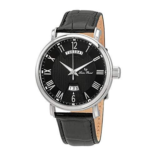ルシアンピカール 腕時計 メンズ Lucien Piccard Maestro Black Dial Men's Watch 40054-01ルシアンピカール 腕時計 メンズ