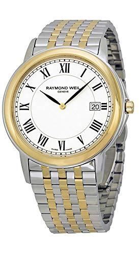 レイモンドウィル 腕時計 メンズ スイスの高級腕時計 Raymond Weil Tradition White Dial Two-tone Mens Watch 5466-STP-00300レイモンドウィル 腕時計 メンズ スイスの高級腕時計