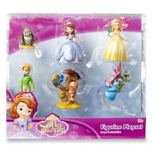 ちいさなプリンセス ソフィア ディズニージュニア 37083100018 【送料無料】Disney Sofia the First Princess 6 pc Figurine Figure Setちいさなプリンセス ソフィア ディズニージュニア 37083100018