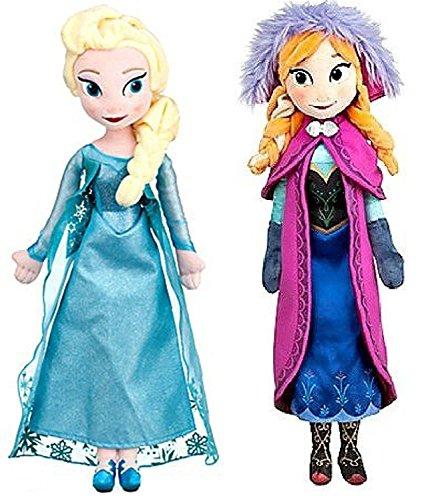 アナと雪の女王 アナ雪 ディズニープリンセス フローズン Disney Frozen Princess Elsa & Anna Doll Set Featuring 20 Plush Dolls (2-Pack)アナと雪の女王 アナ雪 ディズニープリンセス フローズン