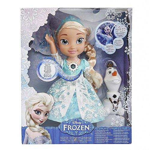 アナと雪の女王 アナ雪 ディズニープリンセス フローズン 【送料無料】Classic Disney Frozen Snow Glow Elsa - Singing Dollアナと雪の女王 アナ雪 ディズニープリンセス フローズン