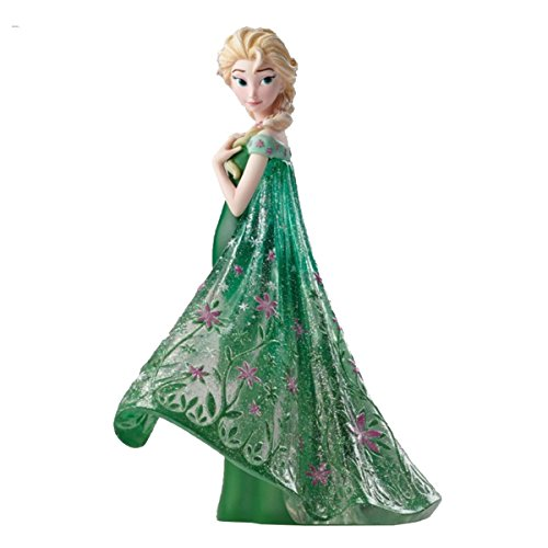 アナと雪の女王 アナ雪 ディズニープリンセス フローズン 4051096 Enesco Disney Showcase Elsa as Seen in Frozen Fever Stone Resin Figurineアナと雪の女王 アナ雪 ディズニープリンセス フローズン 4051096