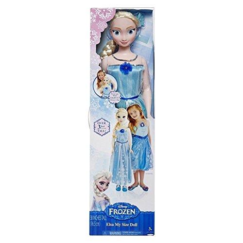 アナと雪の女王 アナ雪 ディズニープリンセス フローズン Disney Frozen My Size Elsa 38 Inch Doll with Light Up Hair Clipアナと雪の女王 アナ雪 ディズニープリンセス フローズン