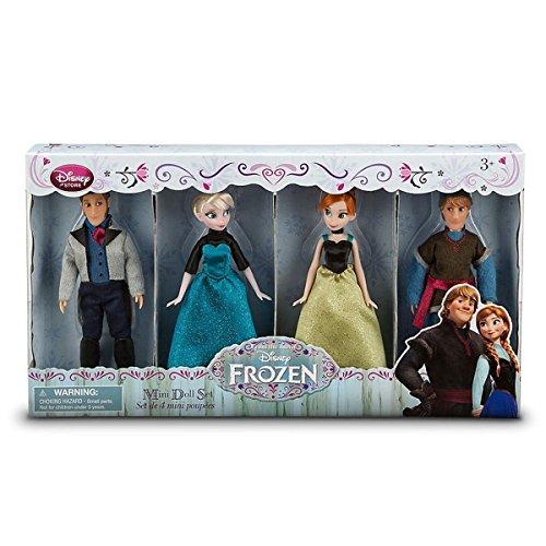 アナと雪の女王 アナ雪 ディズニープリンセス フローズン 【送料無料】Disney Frozen Exclusive Mini Doll Set [Kristoff, Anna, Elsa, Hans]アナと雪の女王 アナ雪 ディズニープリンセス フローズン