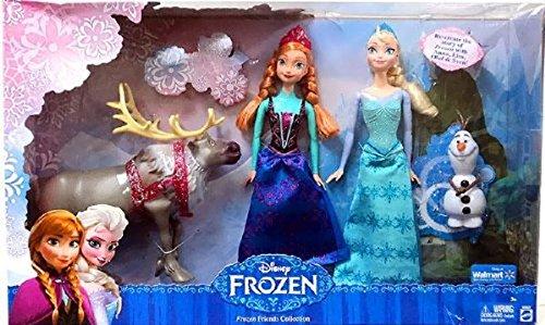 アナと雪の女王 アナ雪 ディズニープリンセス フローズン Frozen Exclusive Doll Set Friends Collection [Anna, Elsa, Olaf & Sven] アナと雪の女王 アナ雪 ディズニープリンセス フローズン