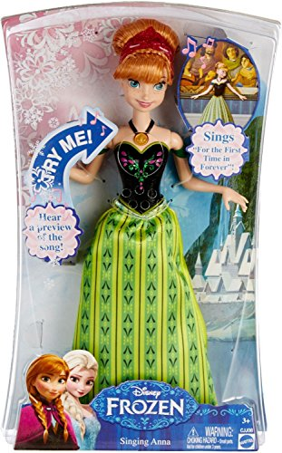 アナと雪の女王 アナ雪 ディズニープリンセス フローズン Simple, Affordable Disney Frozen Anna Singing Dollアナと雪の女王 アナ雪 ディズニープリンセス フローズン