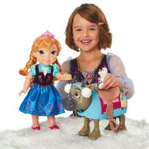 アナと雪の女王 アナ雪 ディズニープリンセス フローズン 31050 Disney Frozen Doll Set Friends Collection [Anna, Olaf & Sven with Earmuffs]アナと雪の女王 アナ雪 ディズニープリンセス フローズン 31050