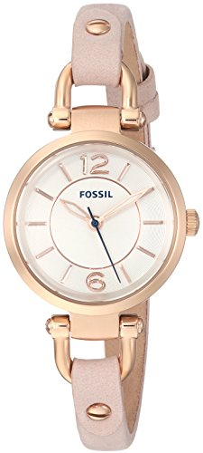 フォッシル 腕時計 レディース ES4340 【送料無料】Fossil Women's Georgia Quartz Leather Watch, Color: Beige, 7 (Model: ES4340)フォッシル 腕時計 レディース ES4340
