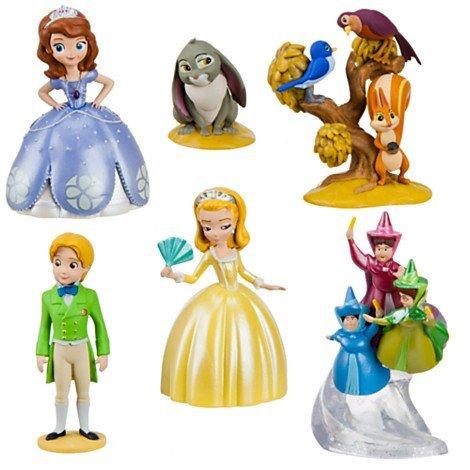 ちいさなプリンセス ソフィア ディズニージュニア Disney Sofia the First Figurine Playset ~ 6 piecesちいさなプリンセス ソフィア ディズニージュニア