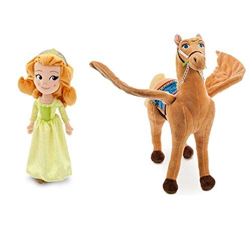 ちいさなプリンセス ソフィア ディズニージュニア Disney Exclusive Sofia the First Amber and Saffron Plush Setちいさなプリンセス ソフィア ディズニージュニア