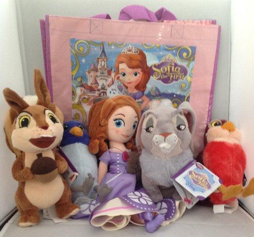 ちいさなプリンセス ソフィア ディズニージュニア Disney Princess Sofia the First Plush Bundle with Friendsちいさなプリンセス ソフィア ディズニージュニア