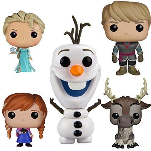 アナと雪の女王 アナ雪 ディズニープリンセス フローズン Funko Disney Frozen Pop Vinyl Figure Bundle Set Elsa, Anna, Olaf, Kristoff, Svenアナと雪の女王 アナ雪 ディズニープリンセス フローズン