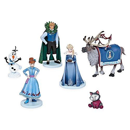 アナと雪の女王 アナ雪 ディズニープリンセス フローズン 【送料無料】Disney Collection Olaf's Frozen Adventure 6 Piece Figurine Playset Olaf, Sven, Elsa, Anna, Kristoff, Cat Figure Play Set or アナと雪の女王 アナ雪 ディズニープリンセス フローズン