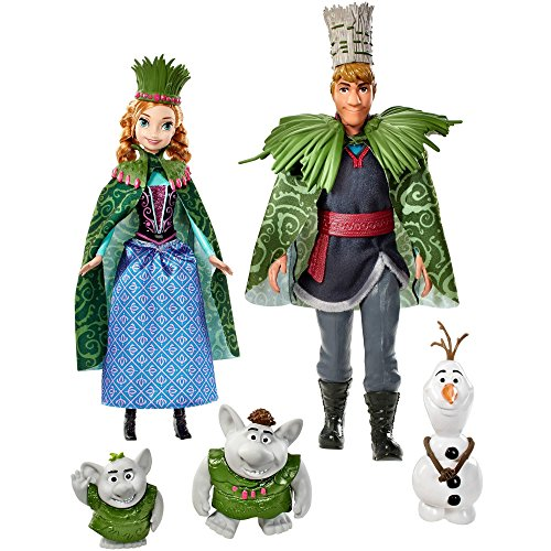 アナと雪の女王 アナ雪 ディズニープリンセス フローズン 【送料無料】Disney Frozen Troll Wedding Deluxe 11