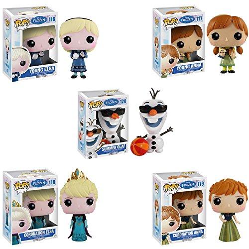 アナと雪の女王 アナ雪 ディズニープリンセス フローズン Funko POP! Disney Frozen - Vinyl Figure - Series 2 - SET OF 5アナと雪の女王 アナ雪 ディズニープリンセス フローズン