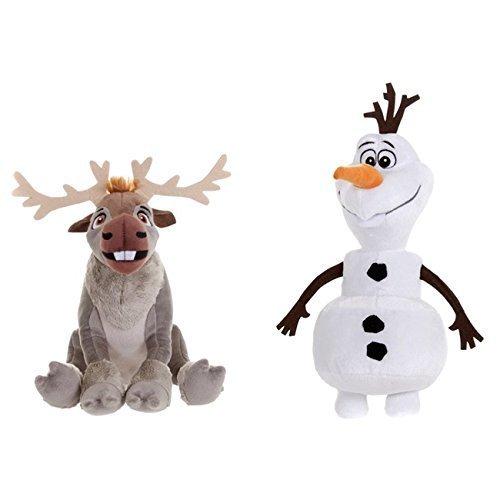 アナと雪の女王 アナ雪 ディズニープリンセス フローズン Disney Frozen Sven And Olaf Plush Toy Twin Packアナと雪の女王 アナ雪 ディズニープリンセス フローズン