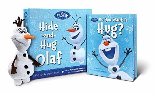 アナと雪の女王 アナ雪 ディズニープリンセス フローズン Disney's Frozen Hide and Hug Olaf Gift Set with Book and Olaf Plushアナと雪の女王 アナ雪 ディズニープリンセス フローズン