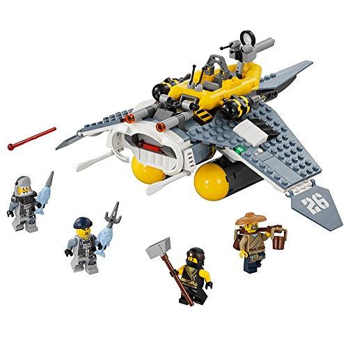 レゴ ニンジャゴー 6136336 【送料無料】LEGO Ninjago Movie Manta Ray Bomber 70609 Building Kit (341 Piece)レゴ ニンジャゴー 6136336