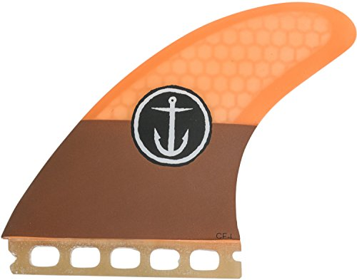 サーフィン フィン マリンスポーツ CFF2111505 Captain Fin Co. CF-Large Surfboard Fins | 3 Fin Set | Single Tab | Orangeサーフィン フィン マリンスポーツ CFF2111505