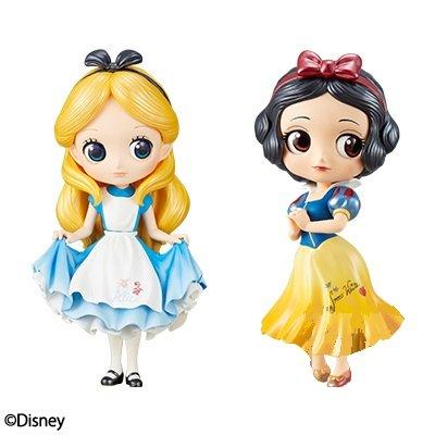 ディズニープリンセス 1 Q posket Disney Characters -Special Coloring vol.1- luxury special color set of 2ディズニープリンセス 1