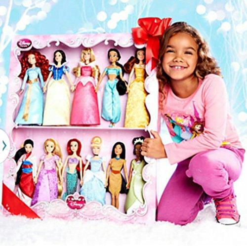 アラジン ジャスミン ディズニープリンセス Disney Princess 11 Doll Deluxe Doll Gift Set 2014 Editionアラジン ジャスミン ディズニープリンセス