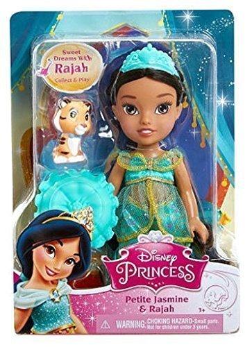 アラジン ジャスミン ディズニープリンセス Disney Princess, Toddler Doll, Exclusive Petite Jasmine Doll and Rajah, 6 Inchesアラジン ジャスミン ディズニープリンセス