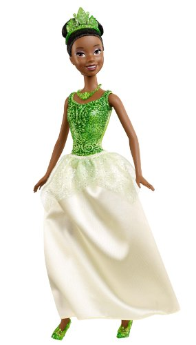 プリンセスと魔法のキス ティアナ プリンセスアンドザフロッグ ディズニープリンセス X9339 【送料無料】Disney Princess Sparkling Princess Tiana Dollプリンセスと魔法のキス ティアナ プリンセスアンドザフロッグ ディズニープリンセス X9339