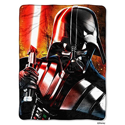 ちいさなプリンセス ソフィア ディズニージュニア 1DSW741000001RET The Northwest Disney Star Wars Classic Master of Evil Printed Fleece Throw 46