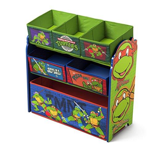 スポンジボブ カートゥーンネットワーク Spongebob キャラクター アメリカ限定多数 TB84925NT Delta Children Multi-Bin Toy Organizer, Nickelodeon Ninja Turtlesスポンジボブ カートゥーンネットワーク Spongebob キャラクター アメリカ限定多数 TB84925NT
