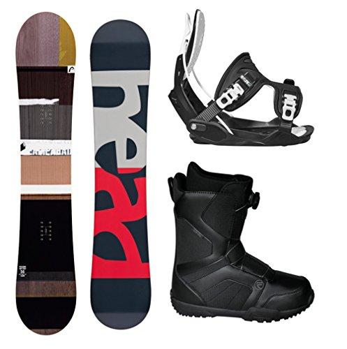 スノーボード ウィンタースポーツ フロウ 2017年モデル2018年モデル多数 HEAD 2018 Fusion Legacy Men's Complete Snowboard Package Bindings BOA Boots - Board Size 156 (Boot Size 9)スノーボード ウィンタースポーツ フロウ 2017年モデル2018年モデル多数
