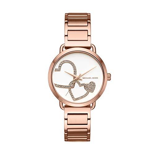 マイケルコース 腕時計 レディース マイケル・コース アメリカ直輸入 MK3825 【送料無料】Michael Kors Women's Portia Analog Display Analog Quartz Rose Gold Watch MK3825マイケルコース 腕時計 レディース マイケル・コース アメリカ直輸入 MK3825