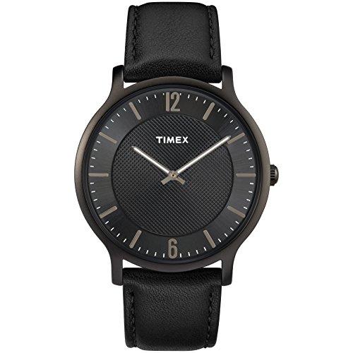 腕時計 タイメックス メンズ TW2R49700 【送料無料】Timex Men's TW2R49700 Metropolitan 40mm Brown/Gray Leather Strap Watch腕時計 タイメックス メンズ TW2R49700