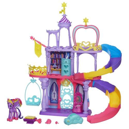 マイリトルポニー ハズブロ hasbro、おしゃれなポニー かわいいポニー ゆめかわいい A8213 My Little Pony Friendship Rainbow Kingdom Playsetマイリトルポニー ハズブロ hasbro、おしゃれなポニー かわいいポニー ゆめかわいい A8213