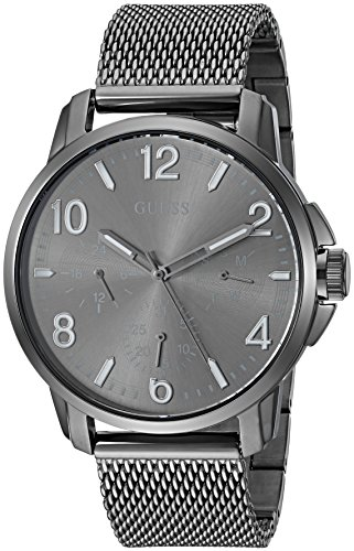 ゲス GUESS 腕時計 メンズ U1040G2 【送料無料】GUESS Men's Stainless Steel Mesh Bracelet Casual Watch, Color: Grey (Model: U1040G2)ゲス GUESS 腕時計 メンズ U1040G2