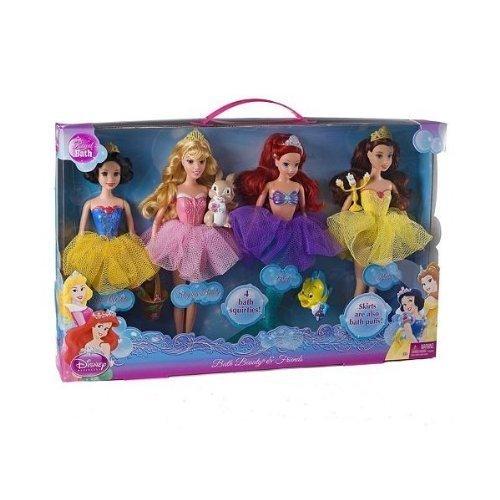 ディズニープリンセス W3076 【送料無料】Disney Princess Bath Beauty Gift Set Ariel, Belle, Snow White, Sleeping Beautyディズニープリンセス W3076