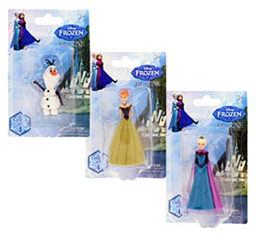 アナと雪の女王 アナ雪 ディズニープリンセス フローズン Disney Frozen Mini Figurine Set of 3 (Elsa, Ana & Olaf)アナと雪の女王 アナ雪 ディズニープリンセス フローズン
