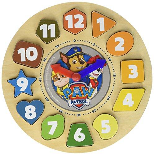 パウパトロール アメリカ直輸入 英語 バイリンガル育児 おもちゃ 31007 Paw Patrol Shape Sorter Clock (12 piece)パウパトロール アメリカ直輸入 英語 バイリンガル育児 おもちゃ 31007