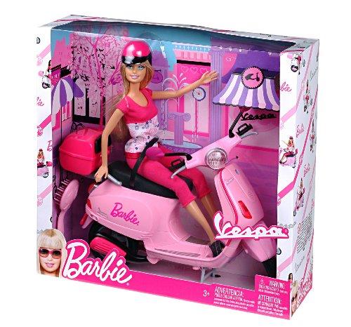バービー バービー人形 日本未発売 プレイセット アクセサリ MFP6560 Barbie Doll on Pink Vespa Scooter with Helmetバービー バービー人形 日本未発売 プレイセット アクセサリ MFP6560