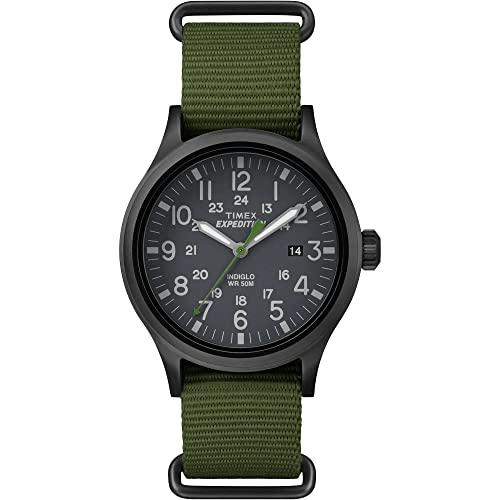 タイメックス 腕時計 レディース TW4B04700JV Expedition Scout Watch - One Size - GREENタイメックス 腕時計 レディース TW4B04700JV