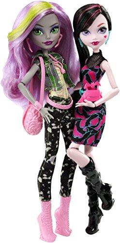 モンスターハイ 人形 ドール DNY33 Monster High Welcome to Monster High Monstrous Rivals 2-Pk Dollsモンスターハイ 人形 ドール DNY33