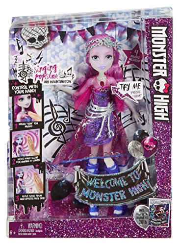 モンスターハイ 人形 ドール DNX66 Monster High Dance the Fright Away Singing Popstar Ari Hauntington Dollモンスターハイ 人形 ドール DNX66