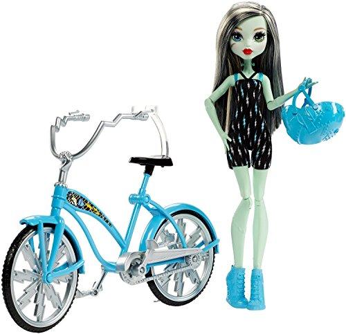モンスターハイ 人形 ドール DPX18 Monster High Boltin' Bicycle Frankie Stein Doll & Vehicleモンスターハイ 人形 ドール DPX18