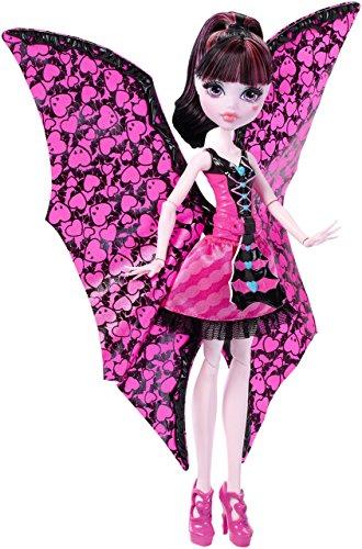 モンスターハイ 人形 ドール DNX65 【送料無料】Monster High Ghoul-to-Bat Transformation Draculaura Dollモンスターハイ 人形 ドール DNX65